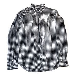 Men's Guess Checkered Flannel Long Sleeve